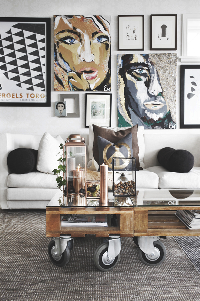 Ideas Creativas de Diseño de Muebles de Palets