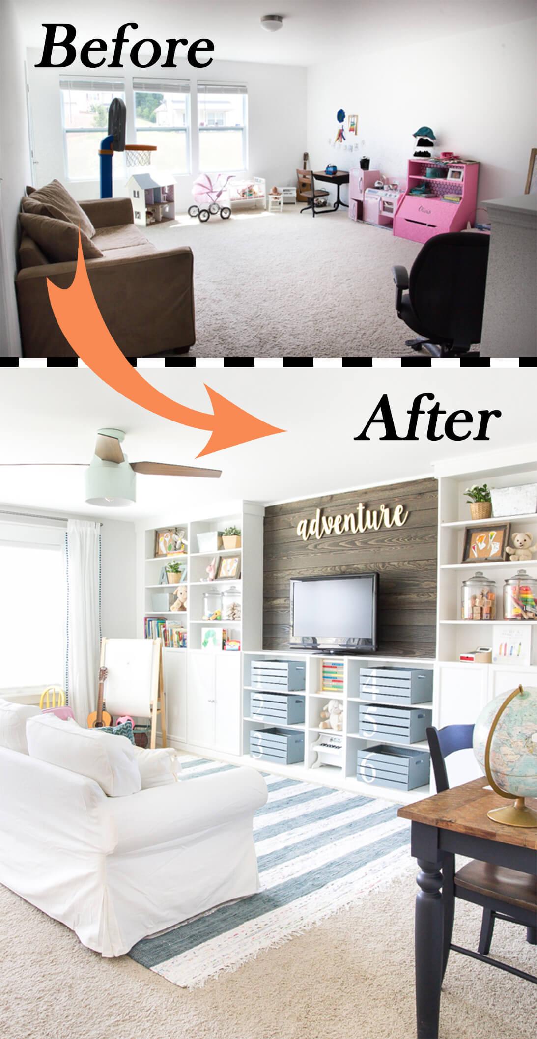 Ingeniosas Ideas para Cambiar el 'look' de tu Sala de Estar