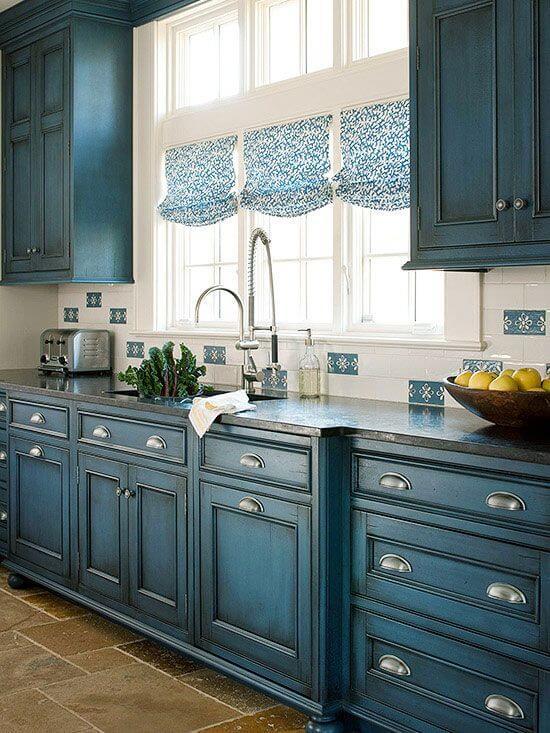 Perfectas Combinaciones de Colores para pintar Gabinetes de Cocina