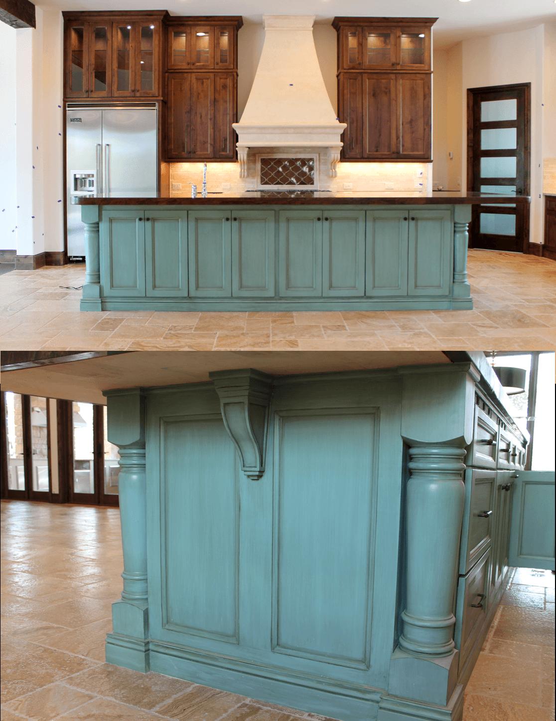 colores gabinetes cocina 9