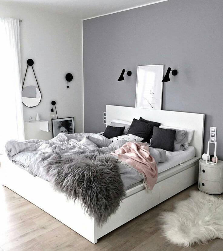 Ideas de Dormitorio Gris que Adorarás
