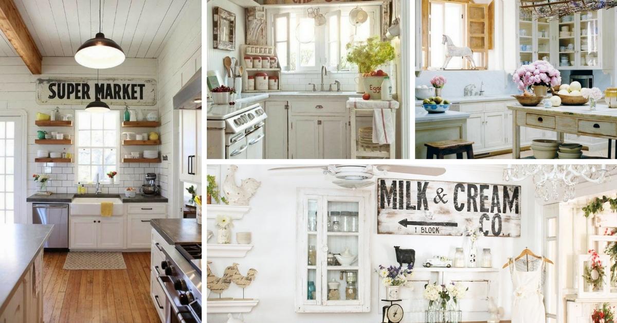 Ideas Cocinas Rsticas Decoradas con Encanto