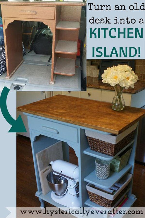isla de cocina economica diy 7
