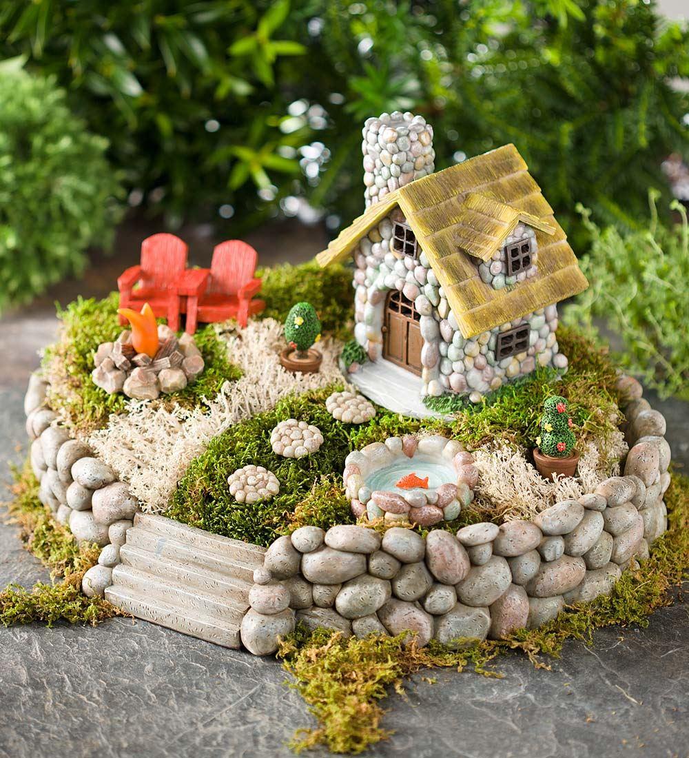 Ideas de Diseño de Jardín de Hadas en Miniatura