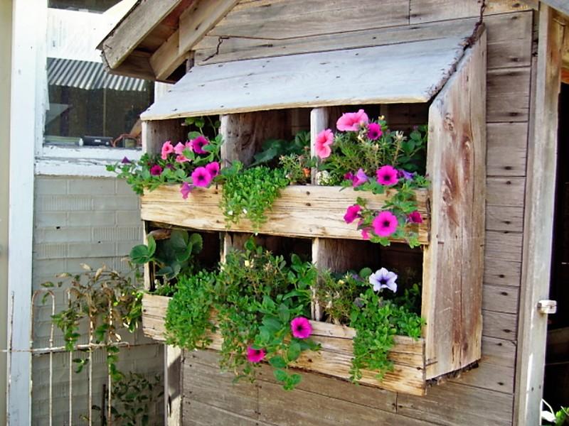 Buenas Ideas para Hacer tu propio Jardín Vertical