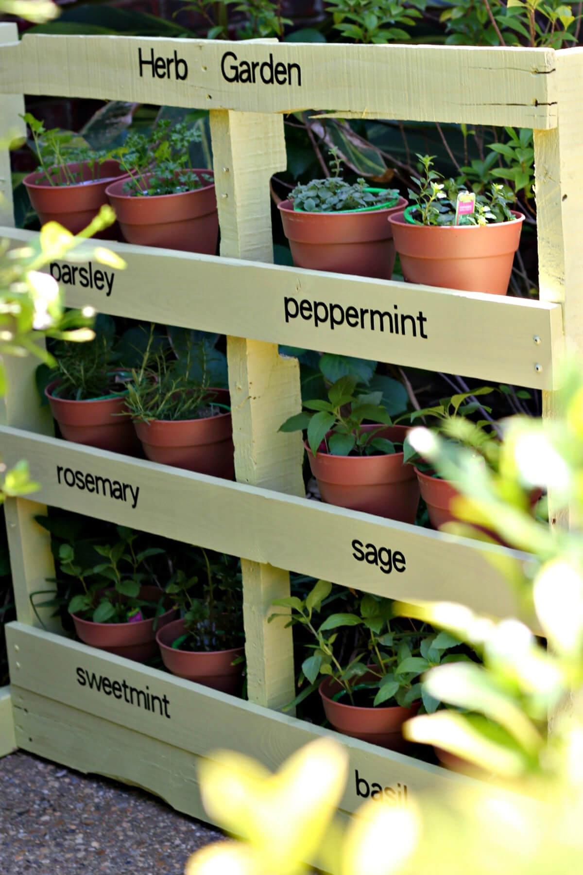 Ideas para Hacer Jardineras de Madera con Palets