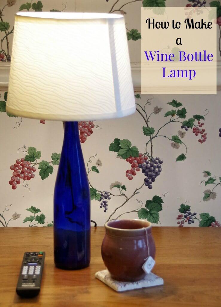 manualidades para reciclar botellas de vino 19