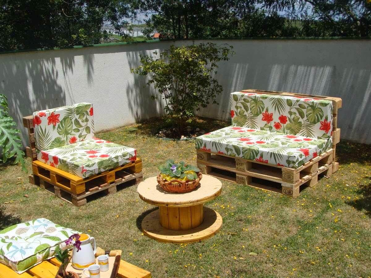 muebles paletas aire libre 17