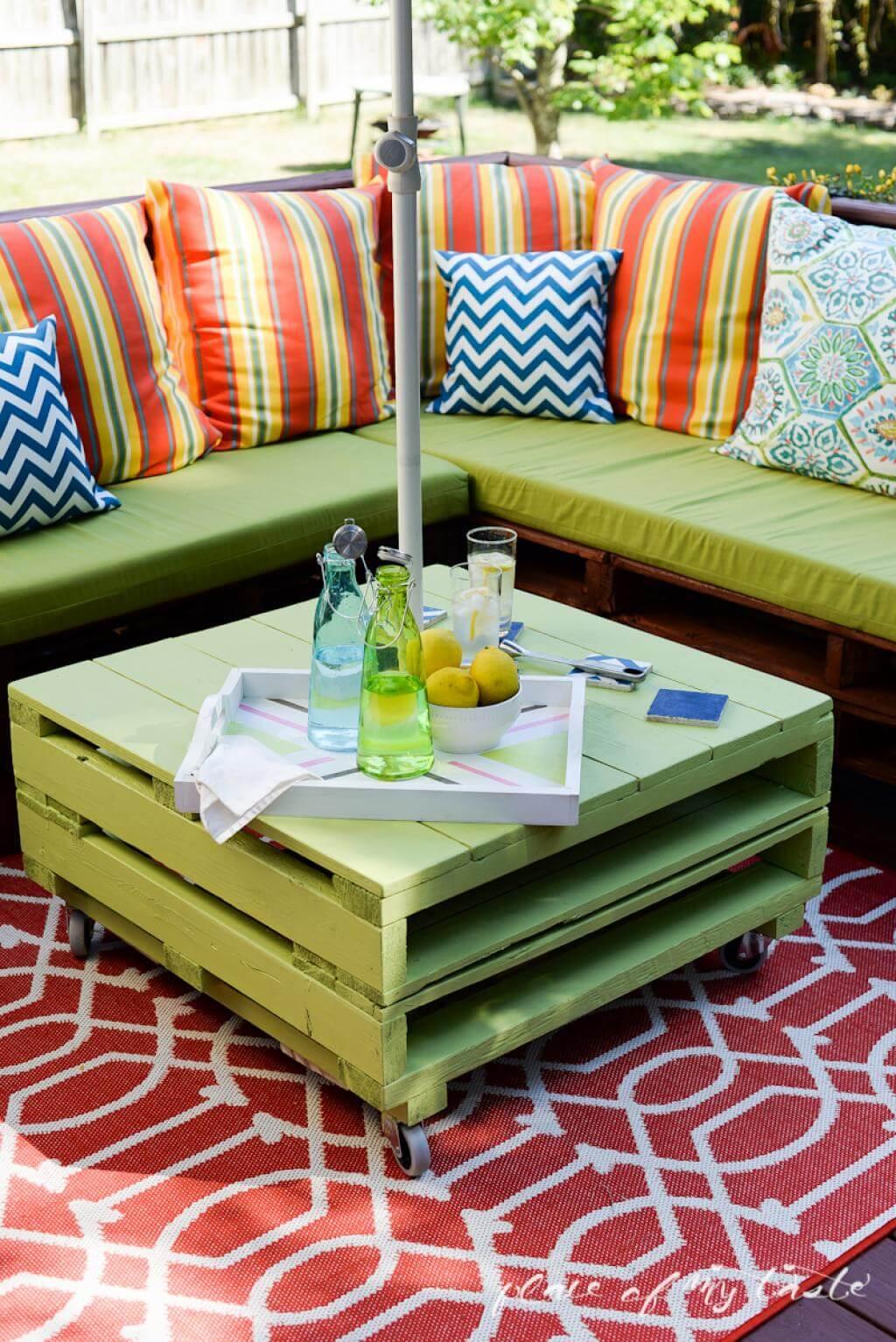 muebles paletas aire libre 23