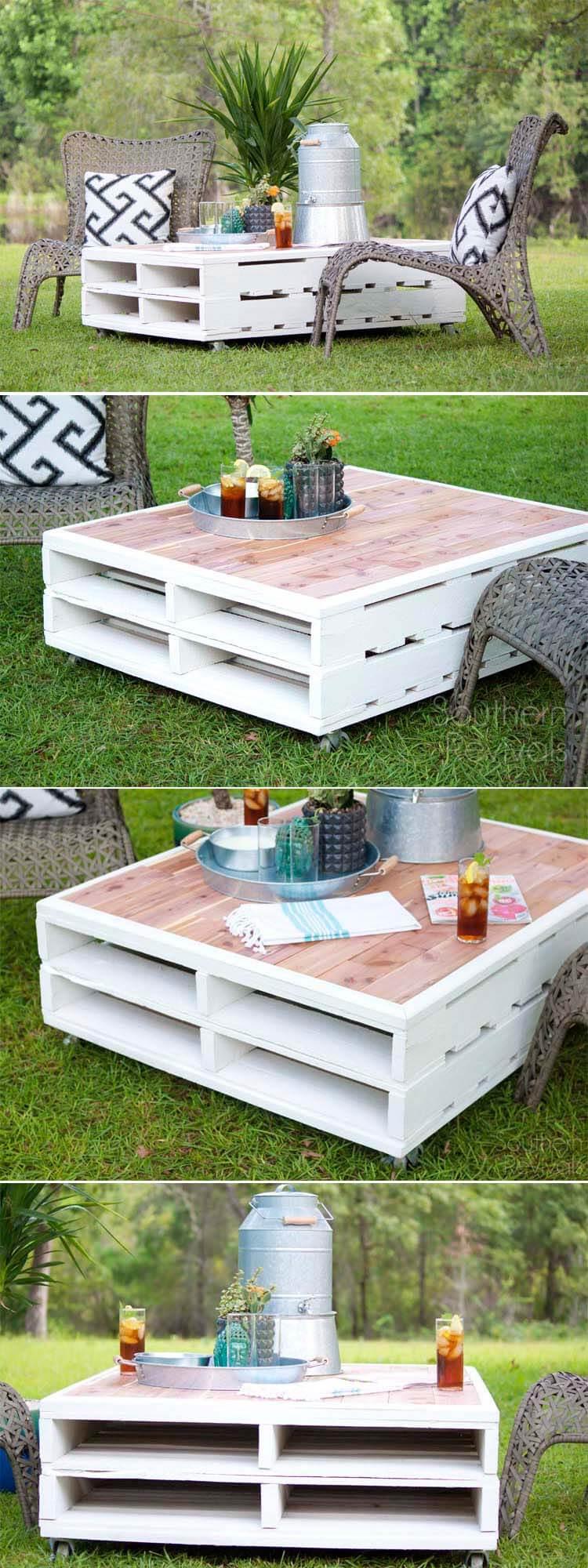 muebles paletas aire libre 3
