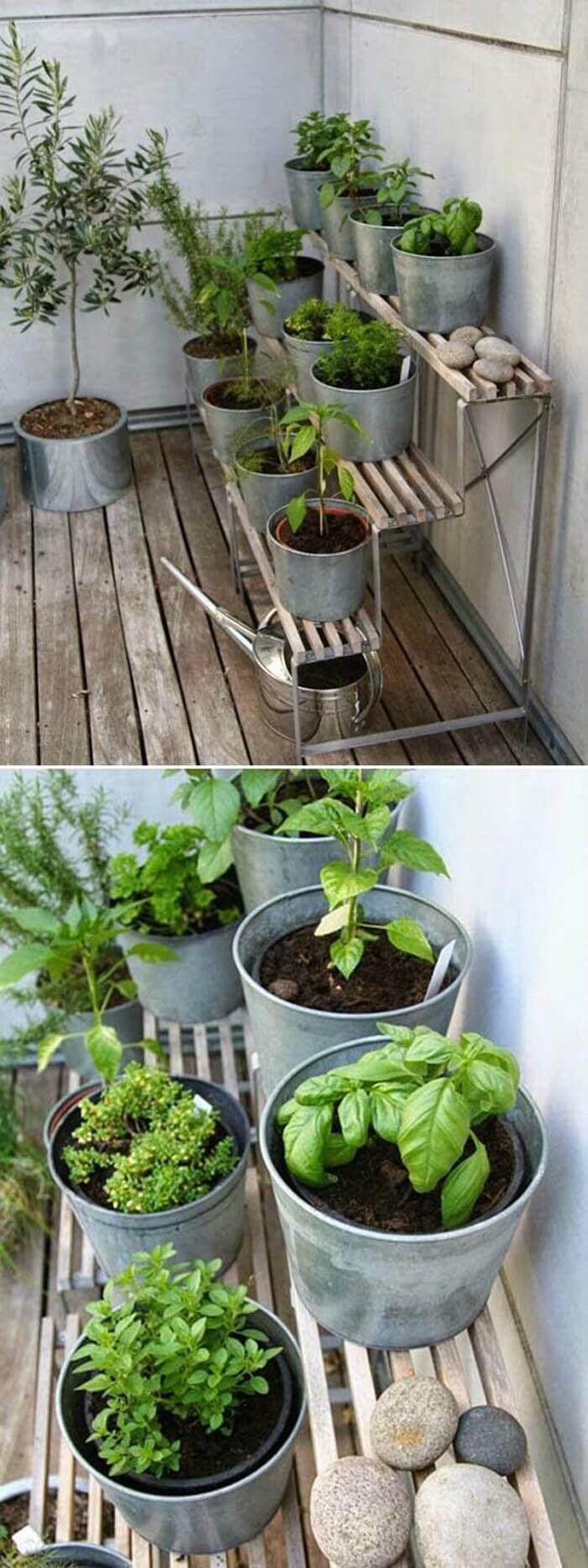 originales y creativos jardines hierbas 16