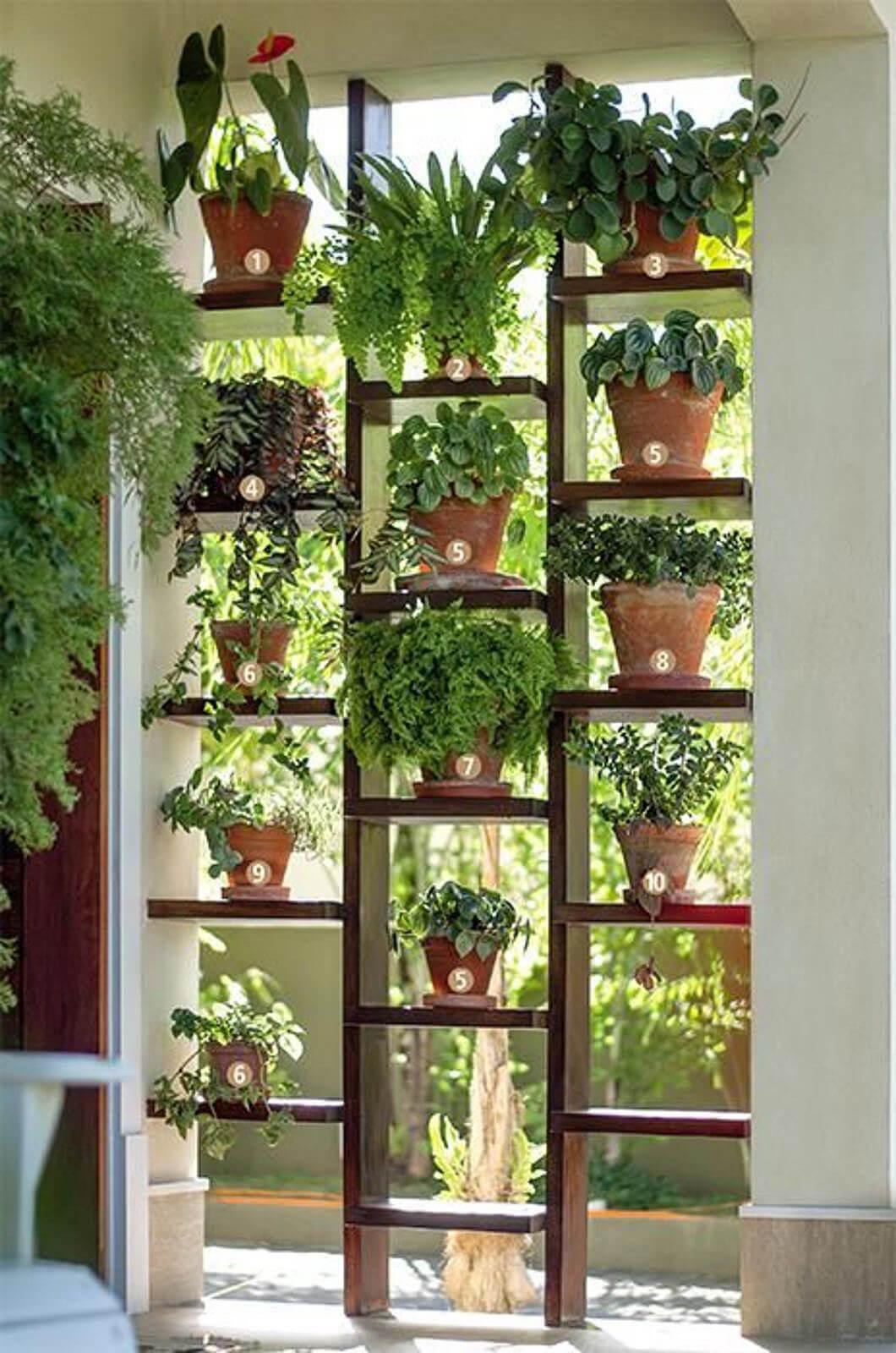 originales y creativos jardines hierbas 4