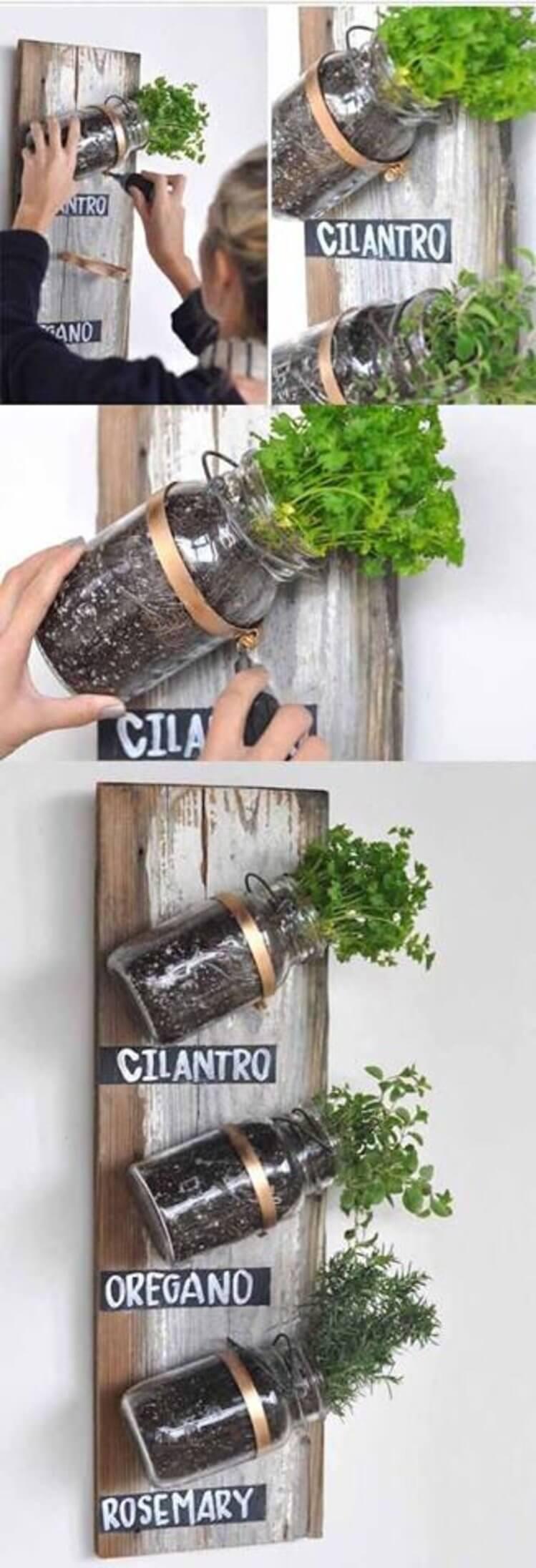 originales y creativos jardines hierbas 5