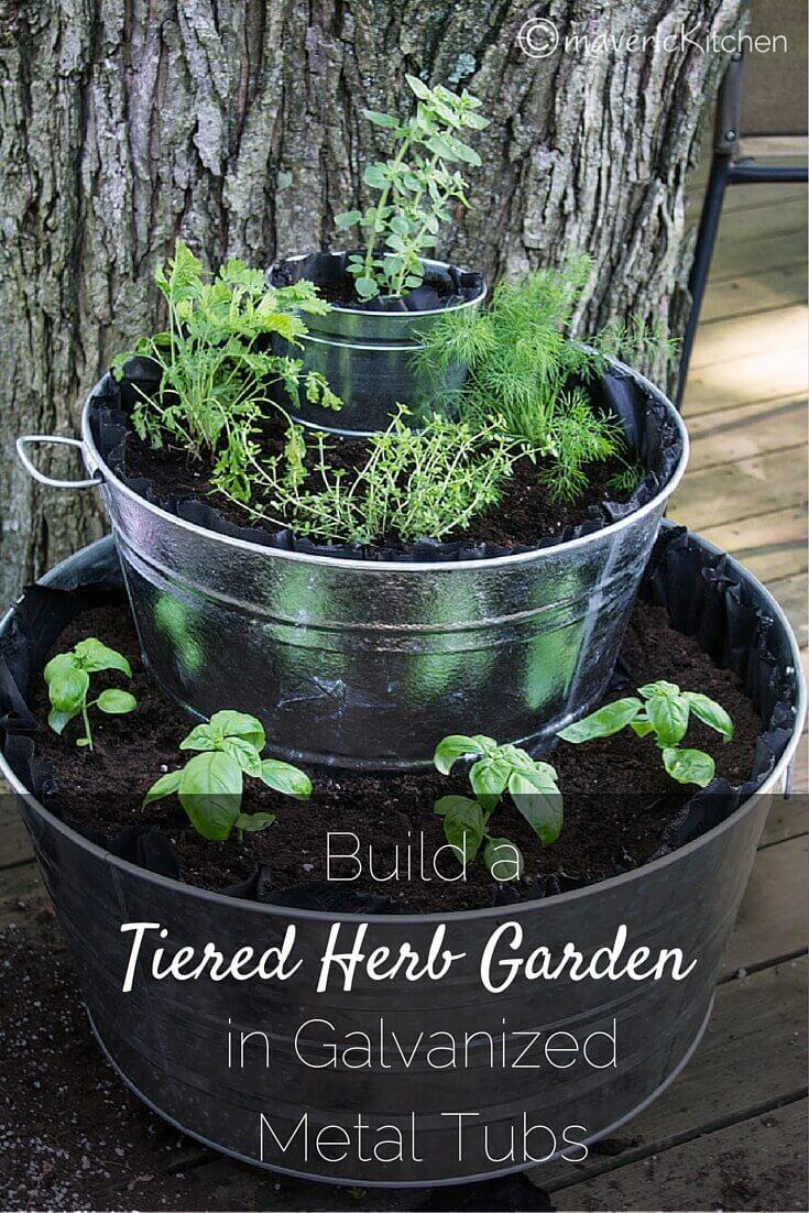 originales y creativos jardines hierbas 9