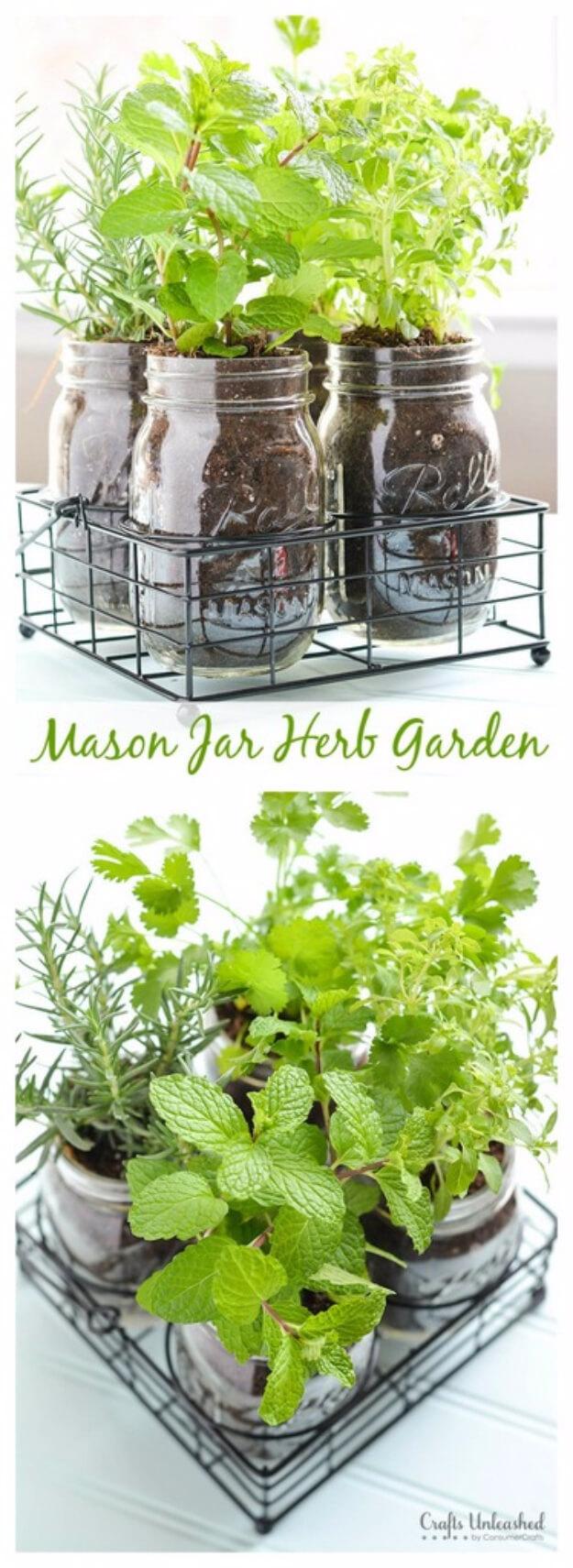 originales y creativos jardines hierbas