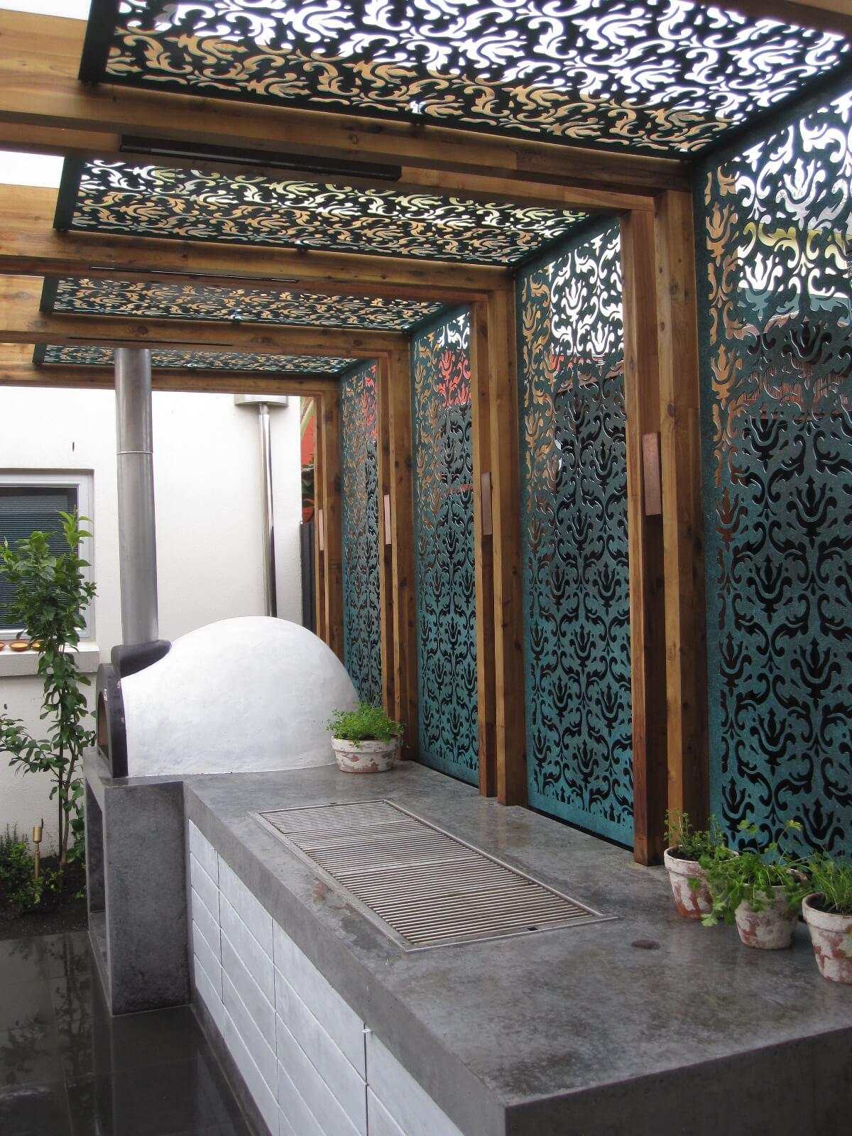 Hermosas Ideas de Diseño de Pérgolas para el Jardín