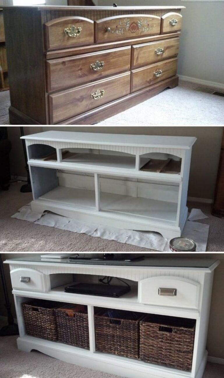 Ideas Muy Buenas para Renovar tus Muebles Antiguos