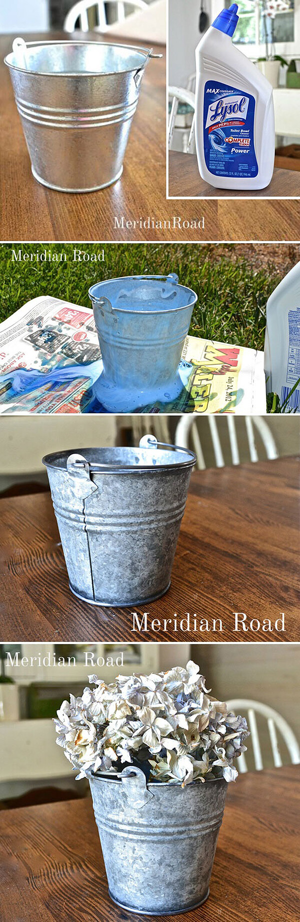 reutilizar tus cubos galvanizados 20