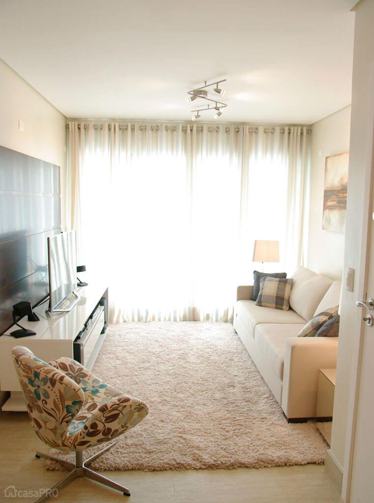 salas modernas en color beige 21