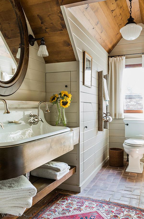 bano al estilo cottage 4