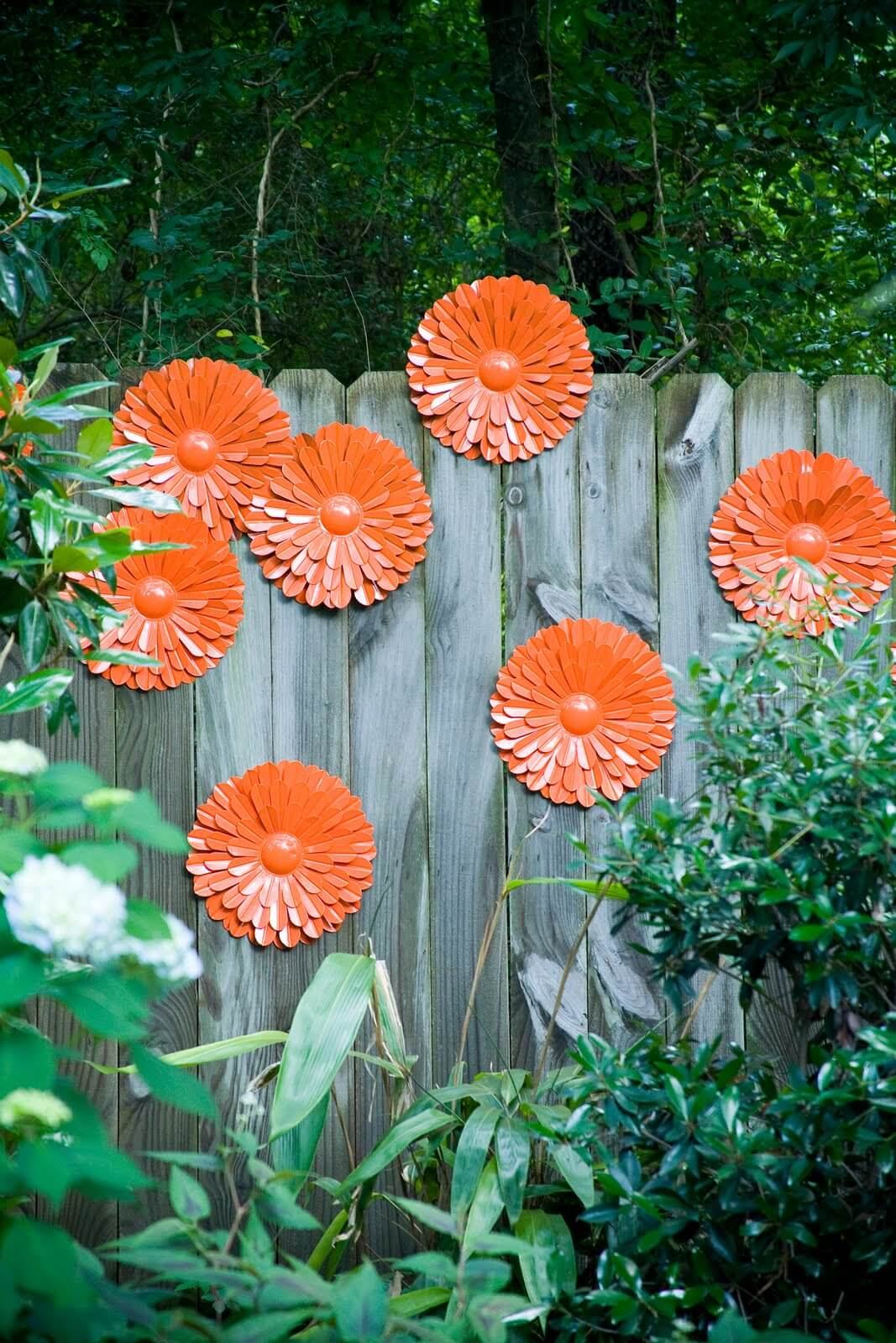 Ideas Únicas de la Decoración de la Cerca del Jardín