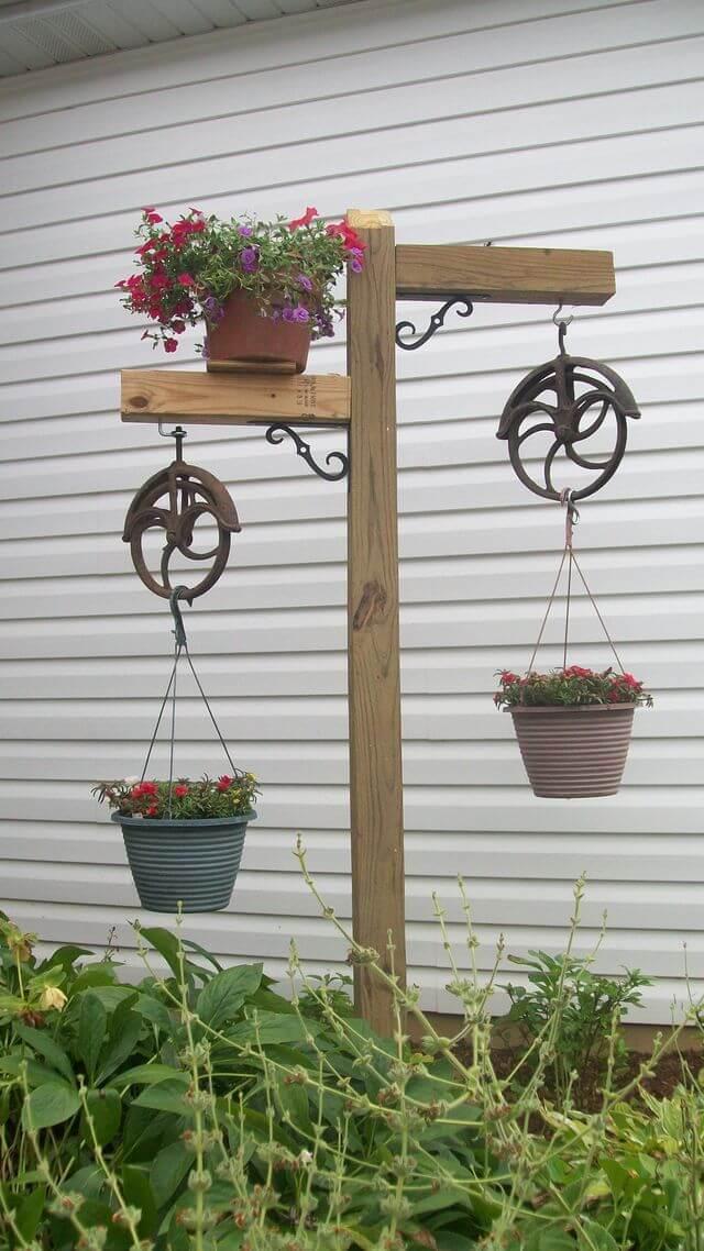 Magníficas Ideas de Contenedores de Jardín Reutilizados