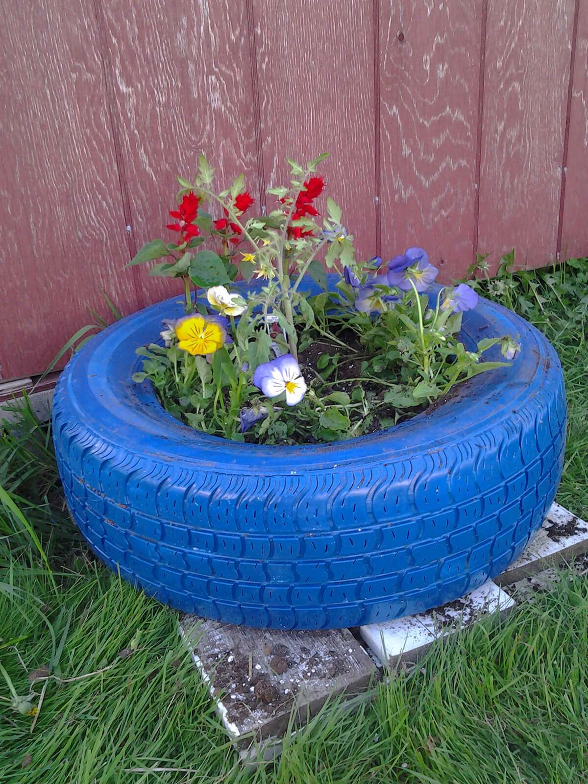 contenedores jardin reutilizados 7