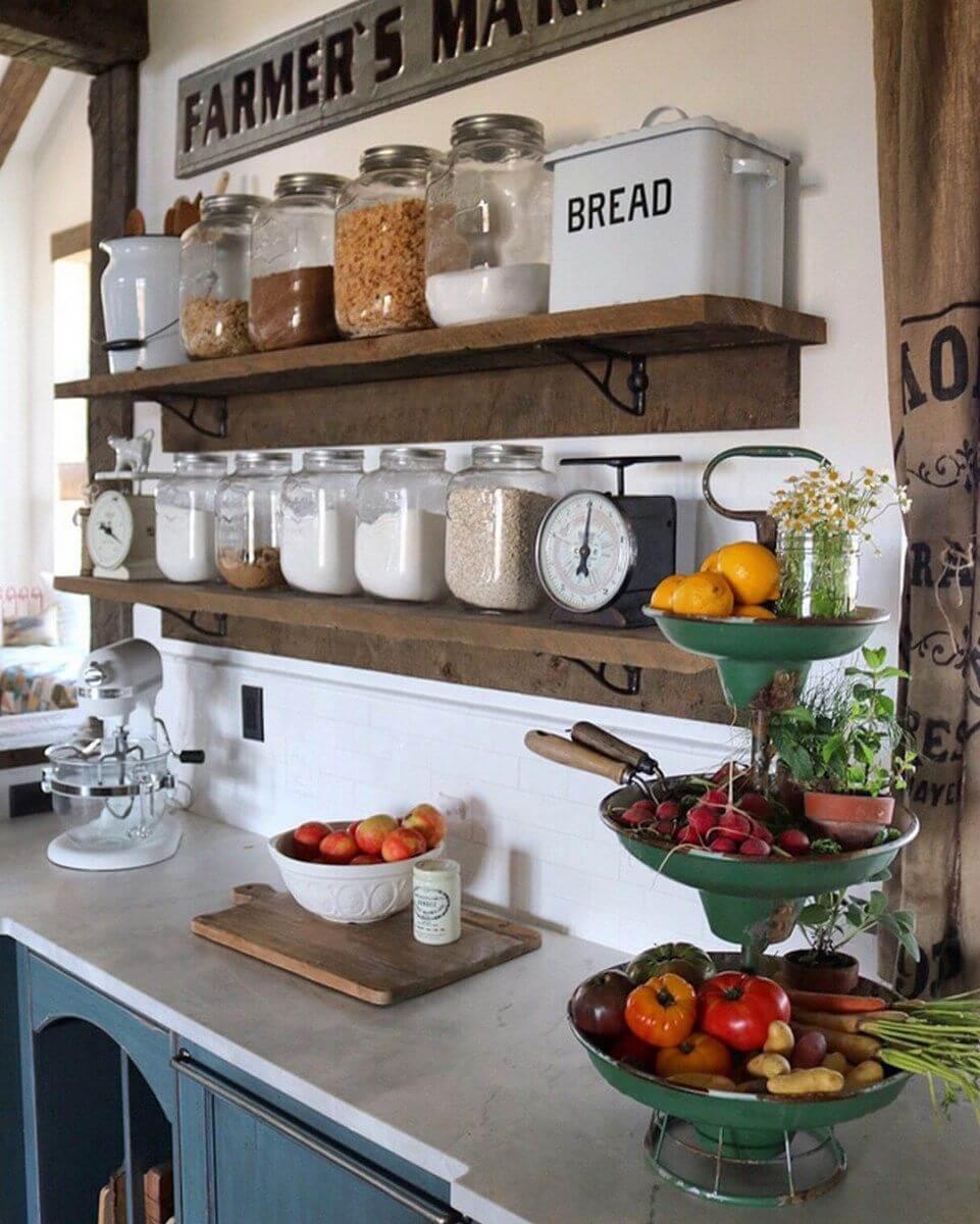 Ideas de Decoración de Cocina de Estilo Rural