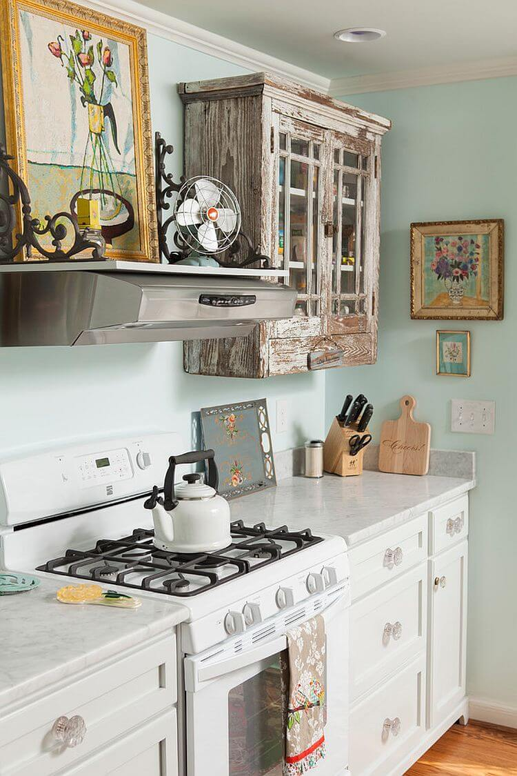 decorar cocina shabby chic 22