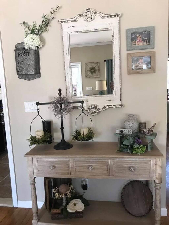 Ideas del Espejo estilo Granja para agregar Belleza Rústica a su Hogar