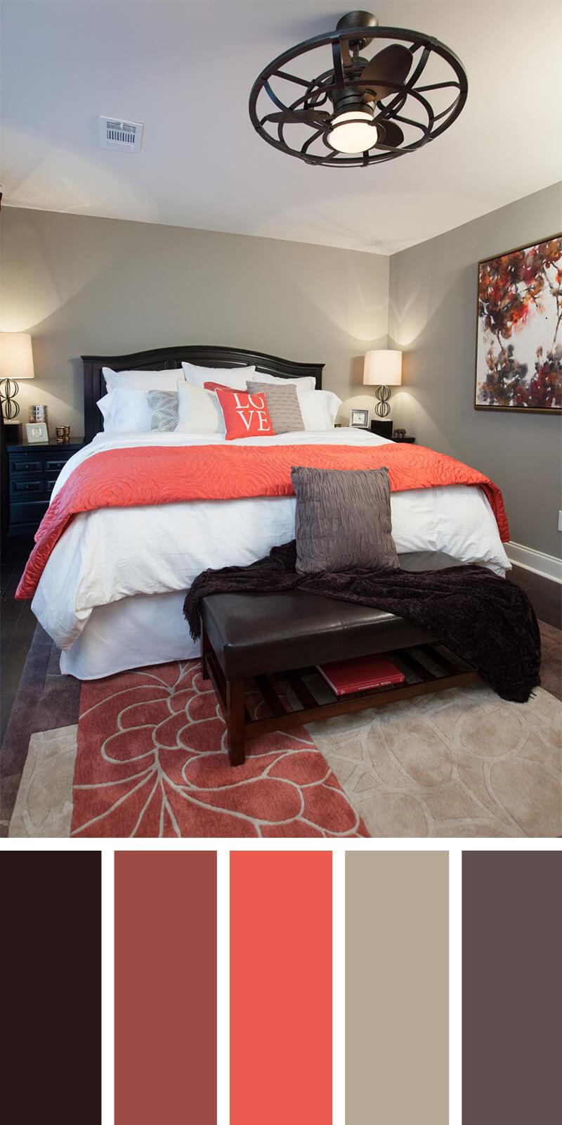 Esquemas de Colores Creativos para el Dormitorio