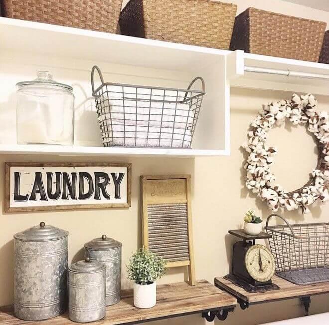 lavanderia estilo rustico 10