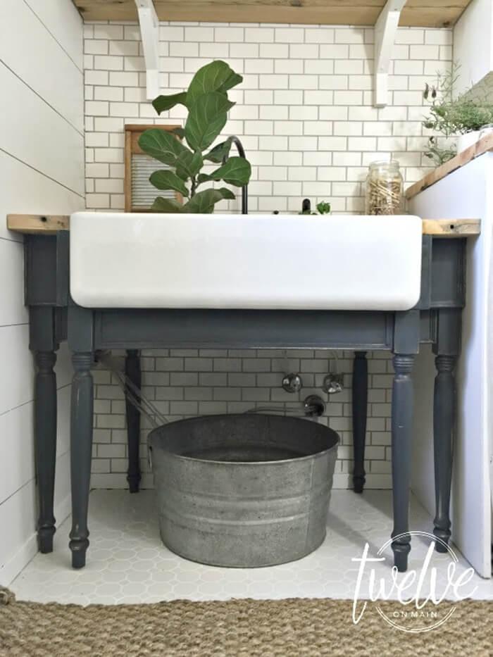 lavanderia estilo rustico 11