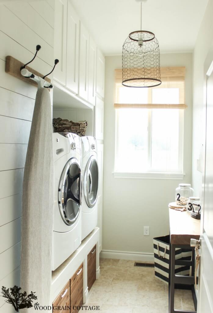 lavanderia estilo rustico 12