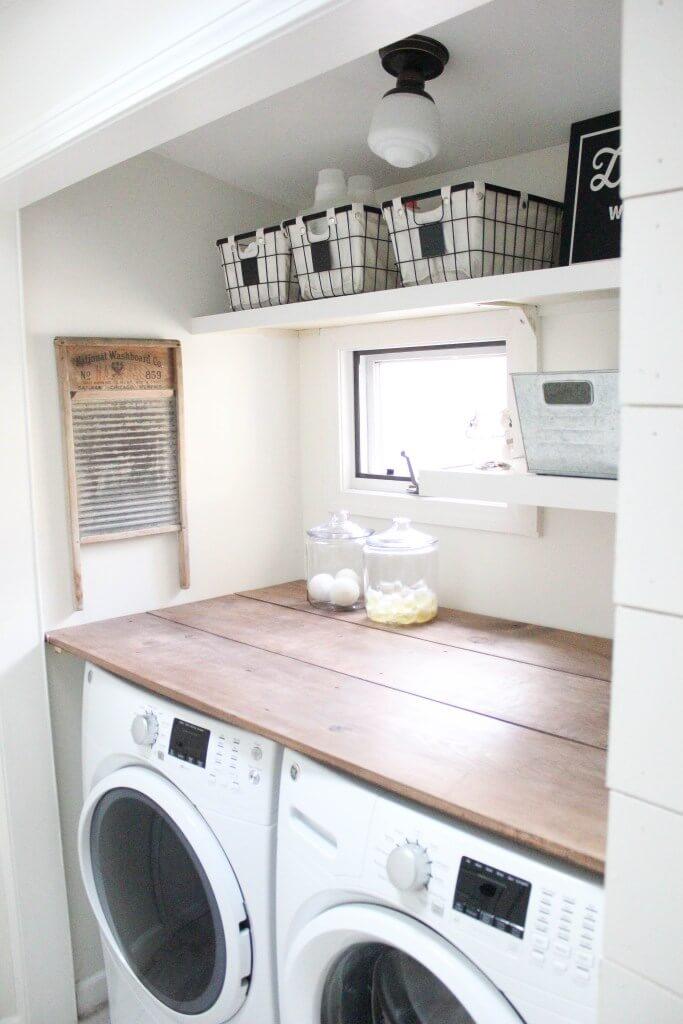 lavanderia estilo rustico 14