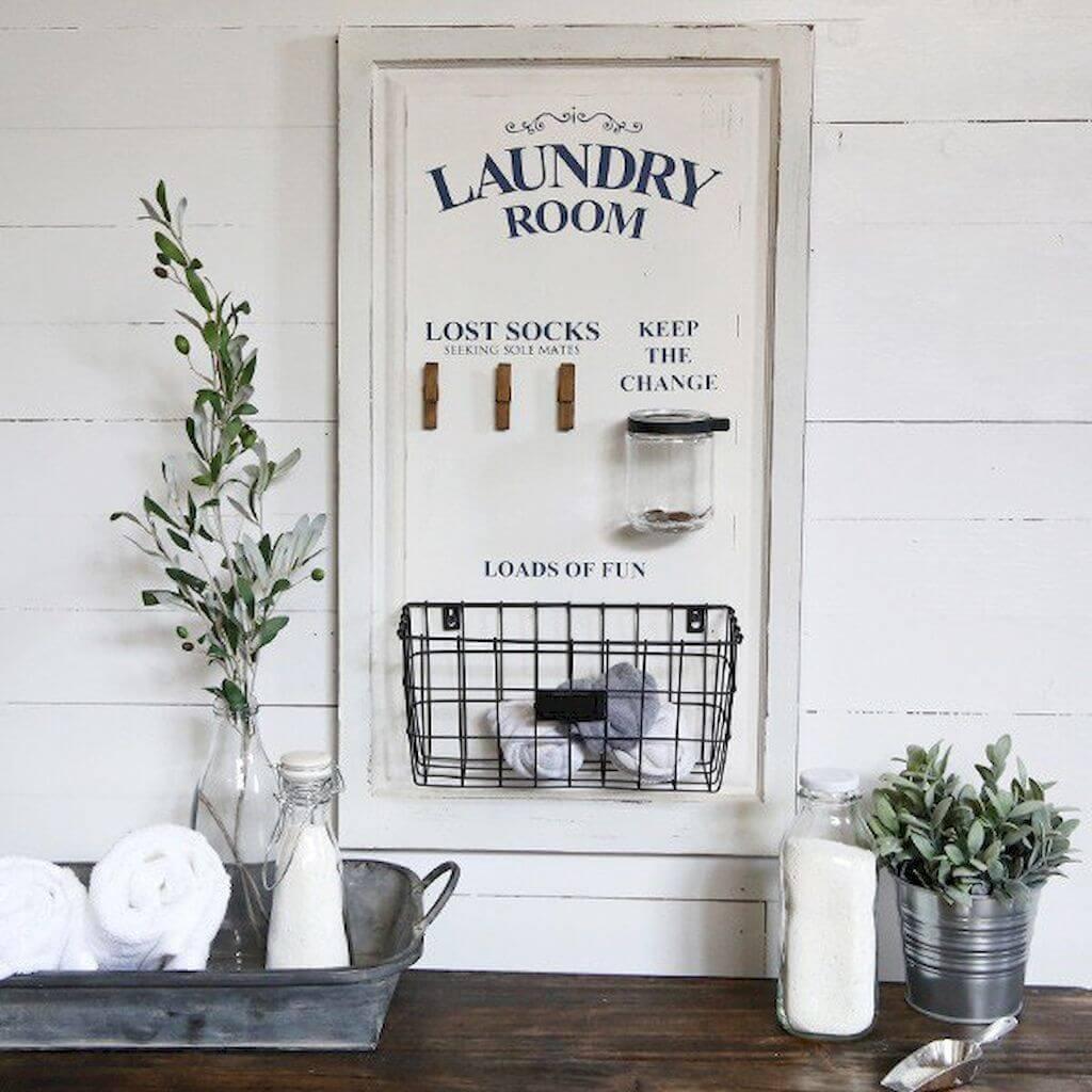 Ideas Creativas para Decorar la Sala de Lavandería Estilo Granja