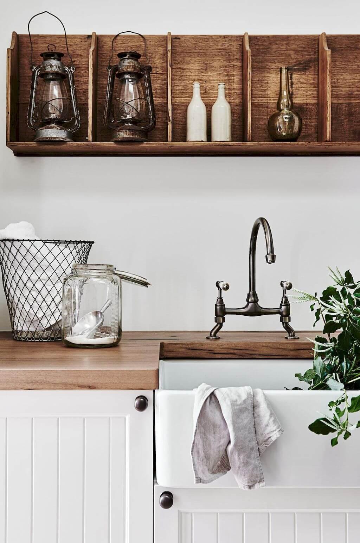 lavanderia estilo rustico 16