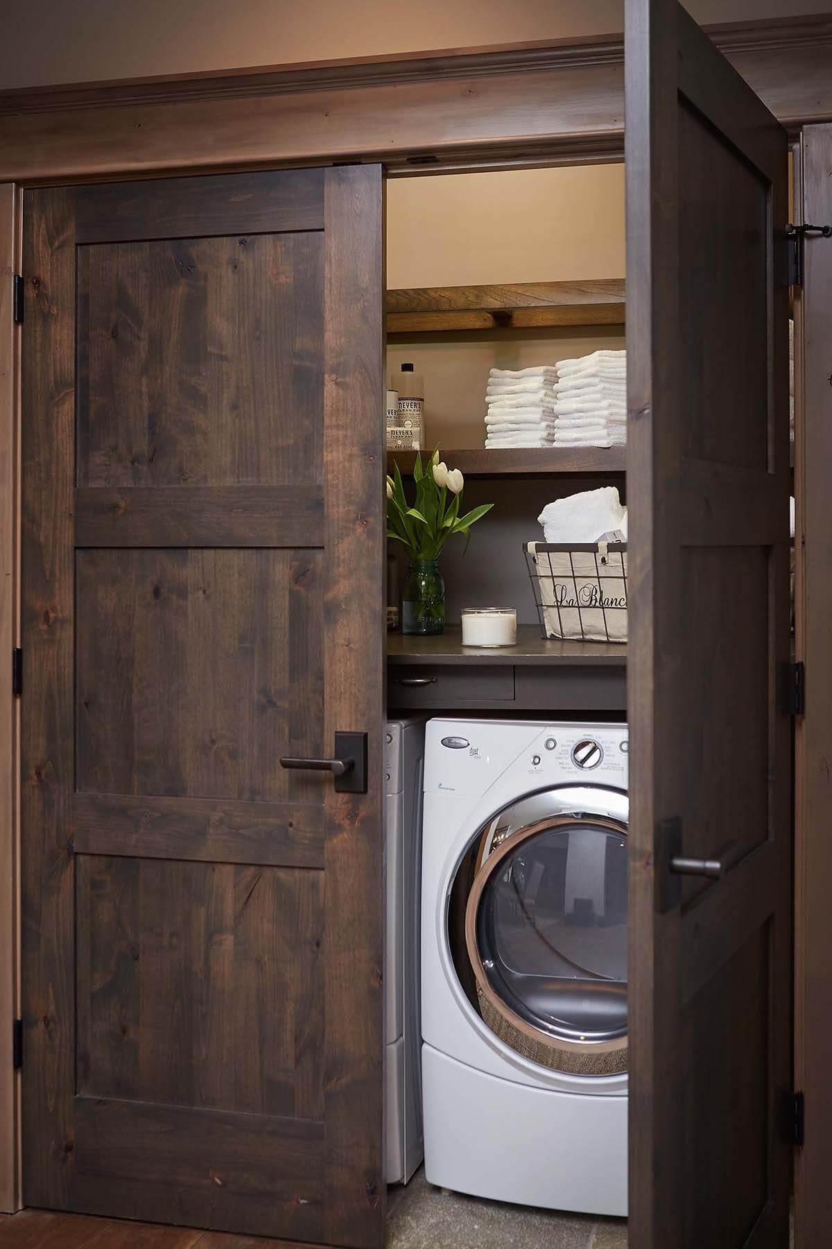 lavanderia estilo rustico 17