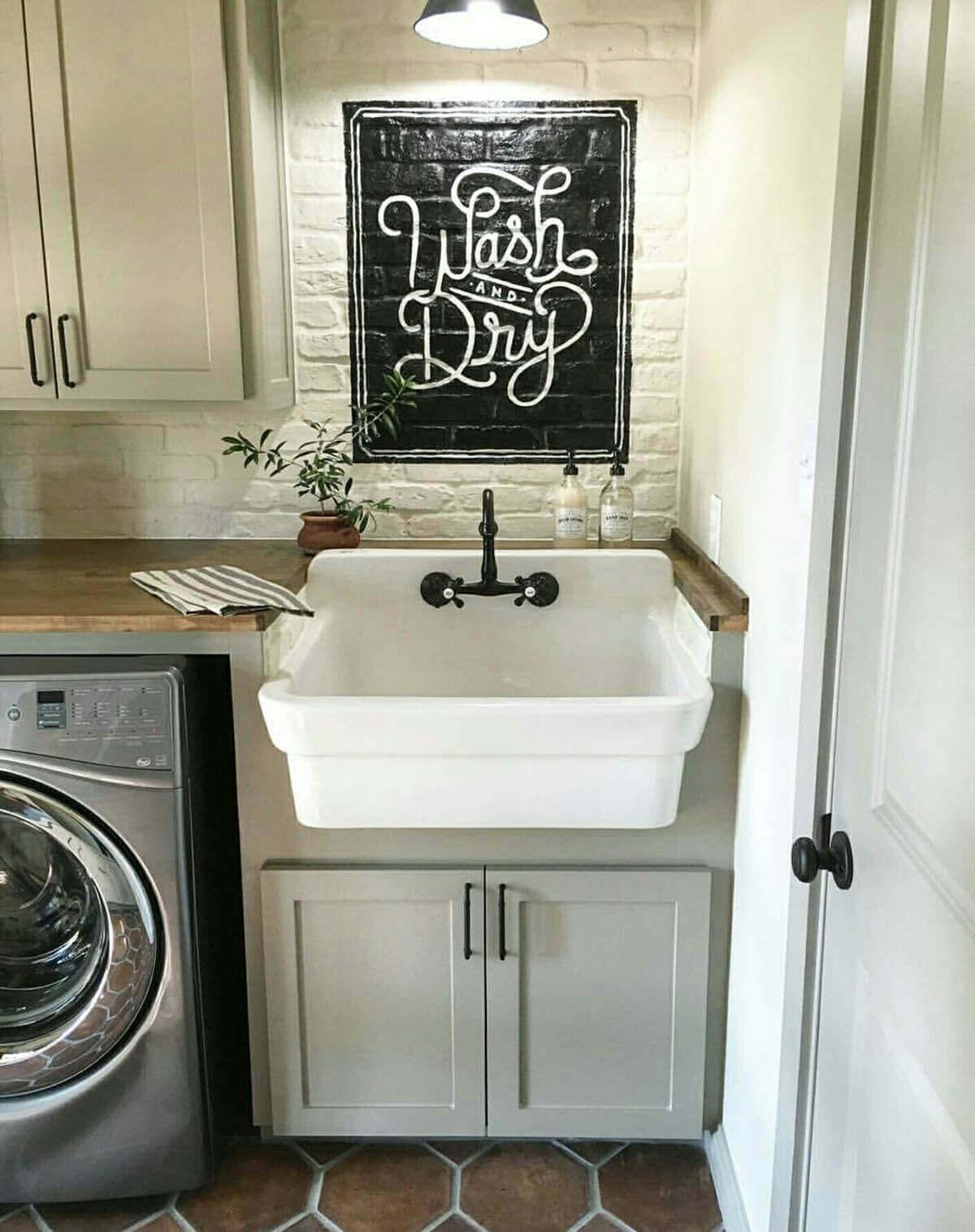 lavanderia estilo rustico 18
