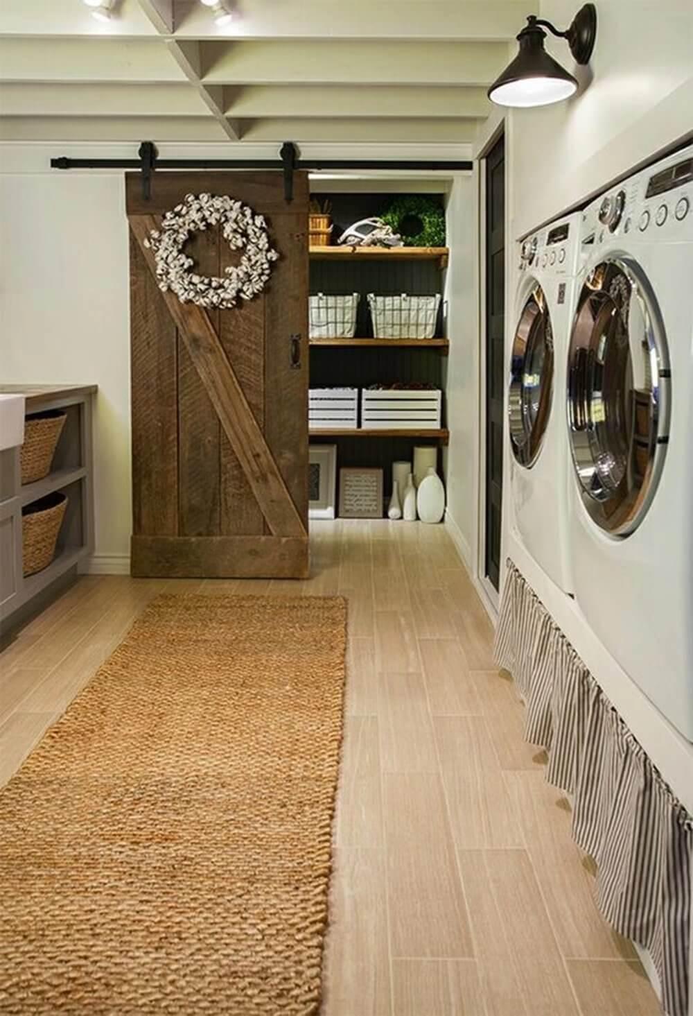 lavanderia estilo rustico 23