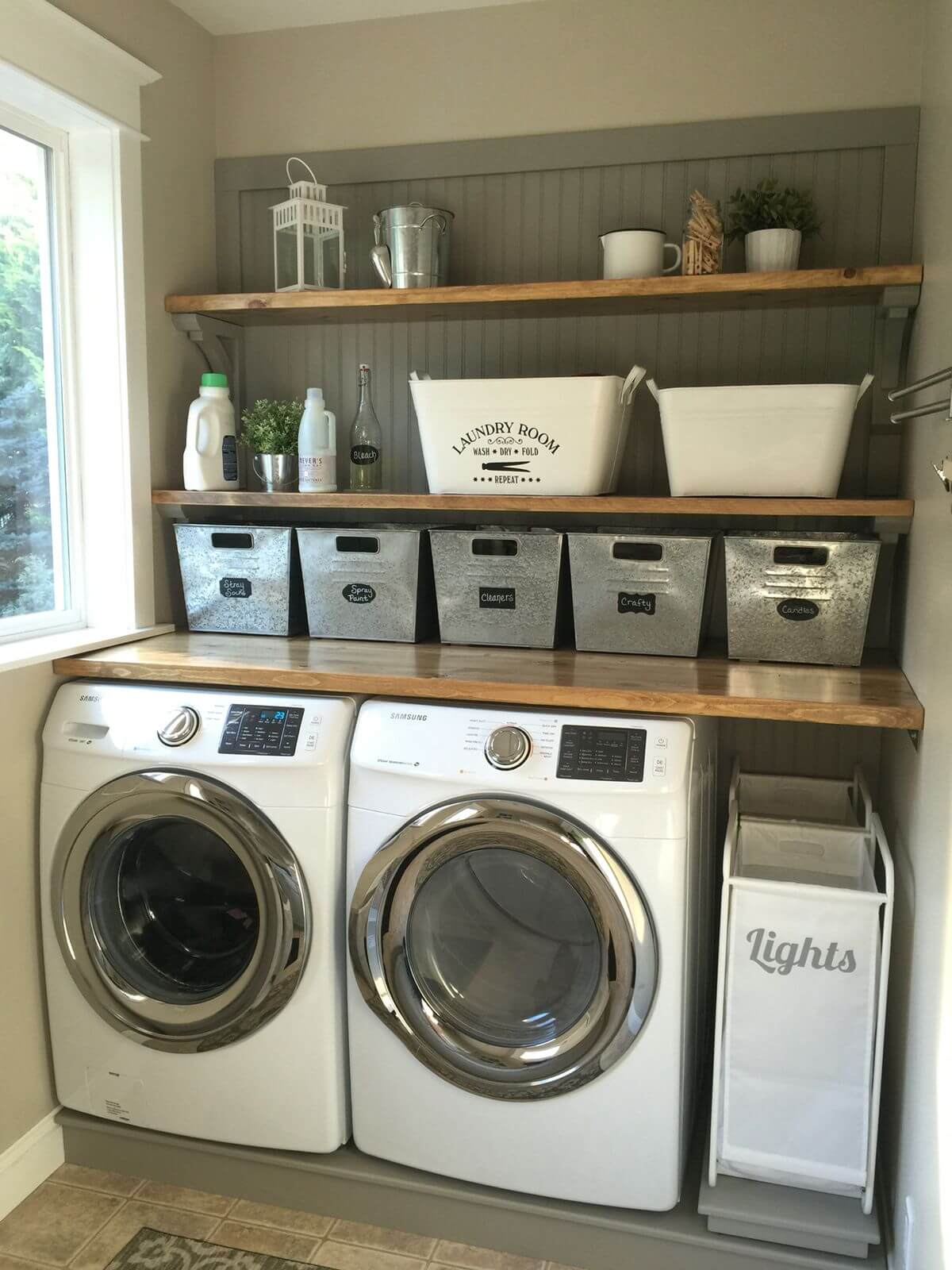lavanderia estilo rustico 24