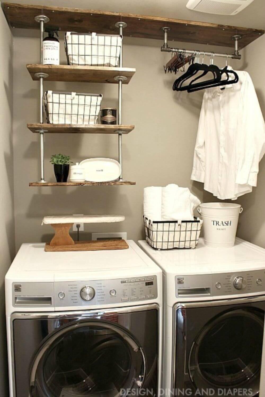 lavanderia estilo rustico 26