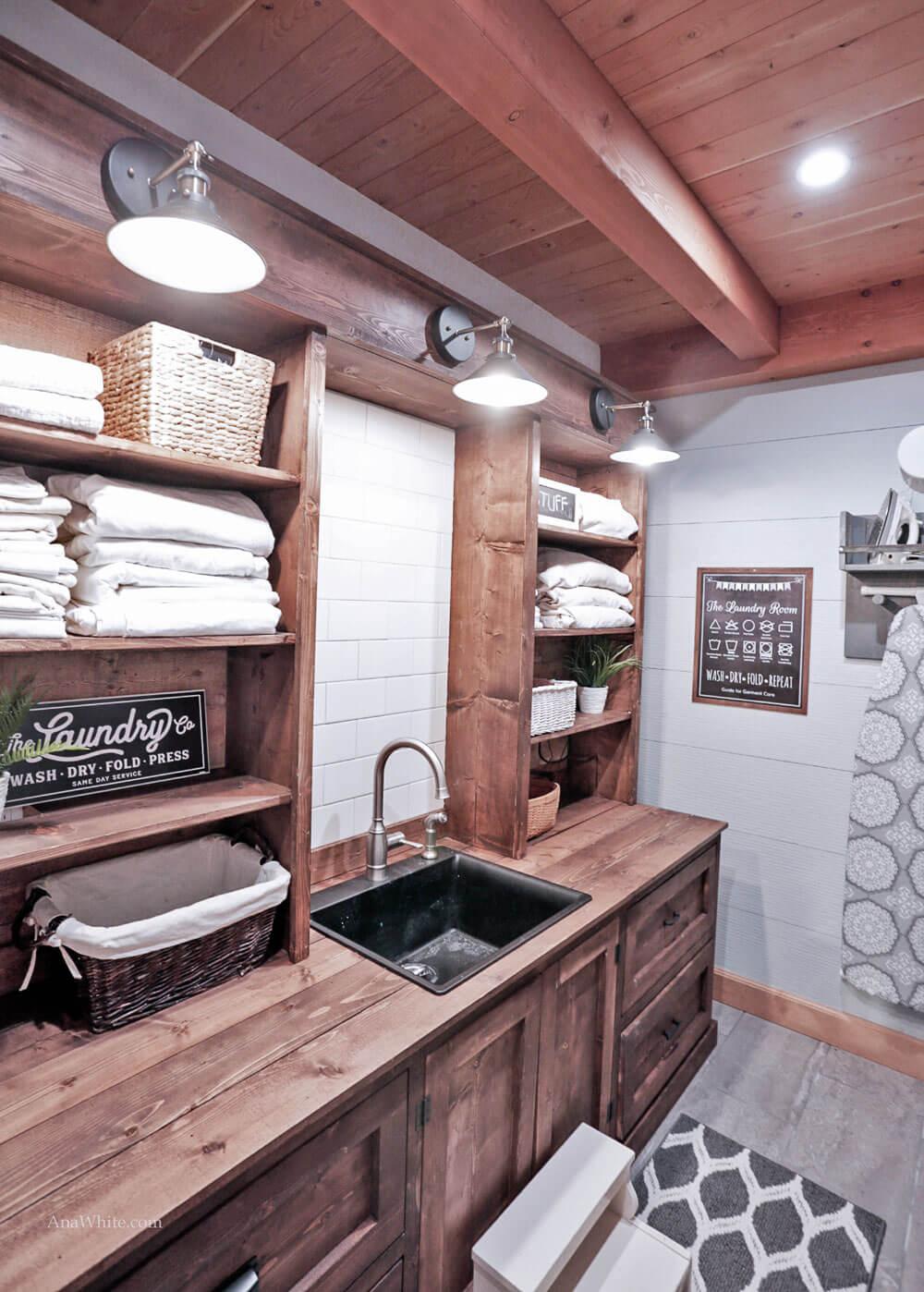 lavanderia estilo rustico 3
