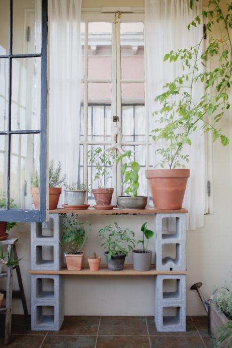 Ideas de Muebles con Bloques de Cemento