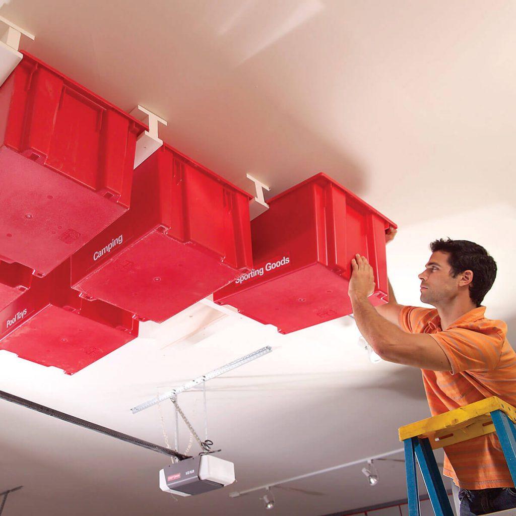 Proyectos de Organización y Almacenamiento de Garaje
