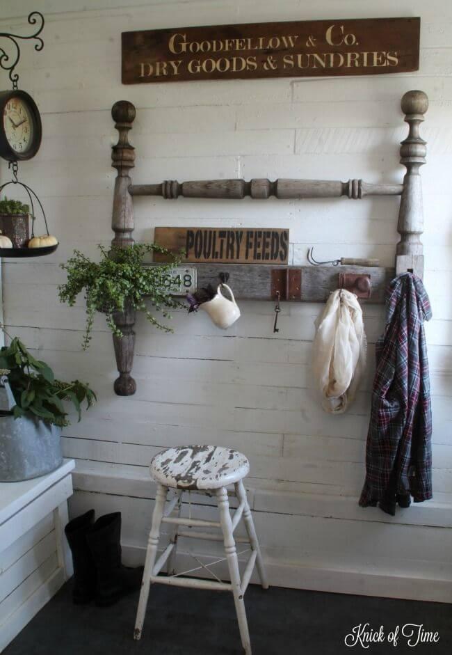 Ideas Únicas para Reciclar el Cabecero Viejo