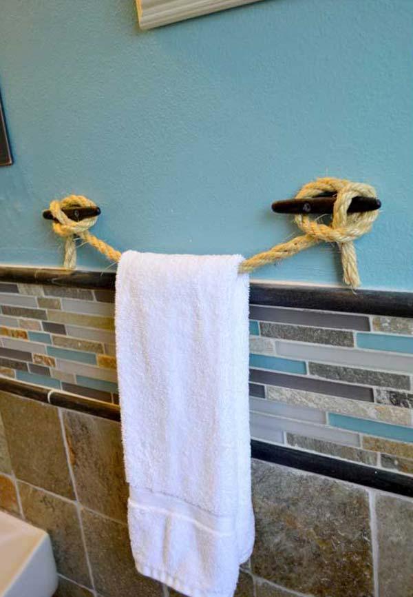 Ideas Creativas para Mantener las Toallas de Baño Organizadas