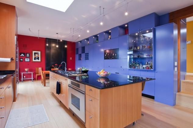 Cocinas Coloridas que te Inspirarán
