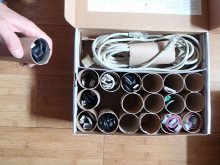 manualidades con rollos de papel higienico 11
