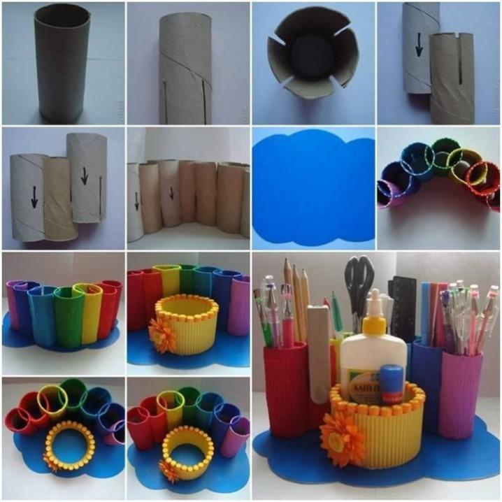 manualidades con rollos de papel higienico 12